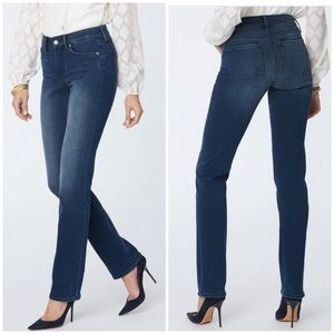 NYDJ Marilyn Straight Leg High Rise Jeans 12P